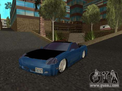 Alpha HD Cabrio for GTA San Andreas left view