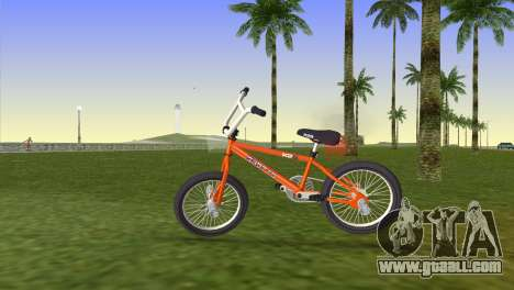 BMX from GTA San Andreas for GTA Vice City back left view