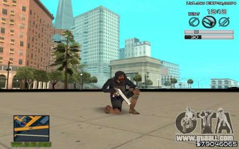 C-HUD by SampHack v.8 for GTA San Andreas third screenshot