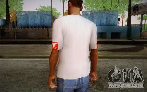 Obey Shirt for GTA San Andreas second screenshot