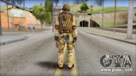 Desert GIGN from Soldier Front 2 for GTA San Andreas second screenshot