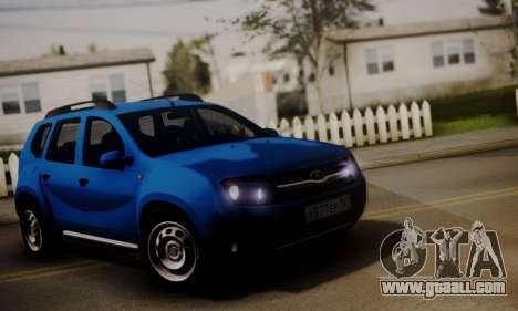 Lada Duster for GTA San Andreas left view