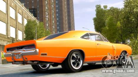 Dodge Charger RT 1970 for GTA 4 left view