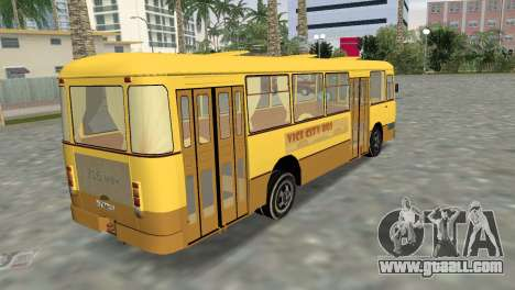 LiAZ 677 for GTA Vice City left view