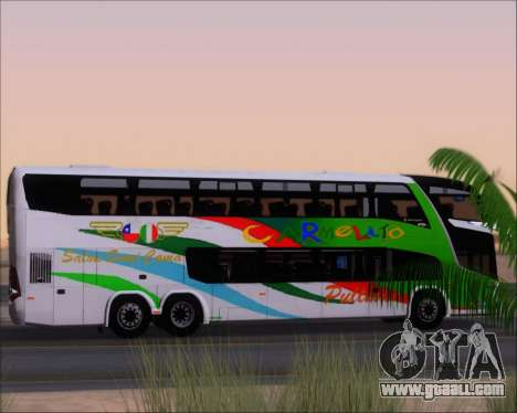 Marcopolo Paradiso G7 1800 DD 6x2 Scania K420 for GTA San Andreas wheels