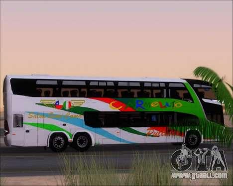 Marcopolo Paradiso G7 1800 DD 6x2 Scania K420 for GTA San Andreas wheels