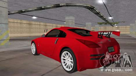 Nissan 350z Tuned for GTA Vice City left view