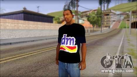 DM T-Shirt Drogerie Market for GTA San Andreas