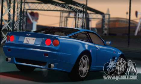 Aston Martin V8 Vantage V600 1998 for GTA San Andreas left view