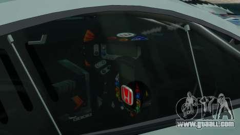 Honda HSV-010 GT for GTA 4 back left view