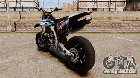 Yamaha YZF-450 v1.19 for GTA 4 back left view