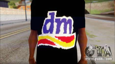 DM T-Shirt Drogerie Market for GTA San Andreas third screenshot