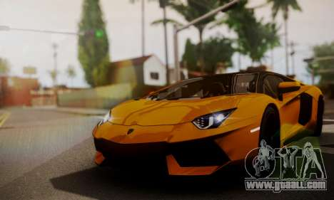 Lamborghini Aventador TT Ultimate Edition for GTA San Andreas back view