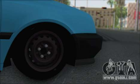 Volksvagen Golf Mk3 for GTA San Andreas right view