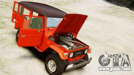 Toyota FJ40 Land Cruiser 1978 Beta for GTA 4 right view