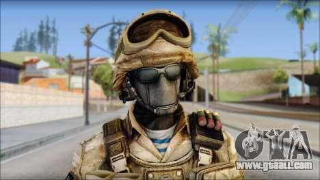 Desert GRU from Soldier Front 2 for GTA San Andreas third screenshot