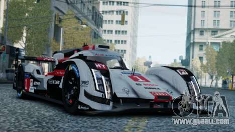 Audi R18 E-tron Quattro for GTA 4