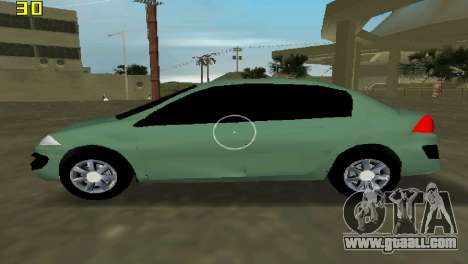 Renault Megane Sedan 2001 for GTA Vice City left view