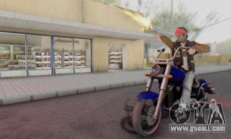 Biker A7X 2 for GTA San Andreas fifth screenshot