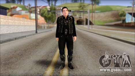 Till Lindemann Skin for GTA San Andreas