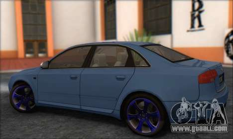Audi S4 4.0 Quattro 2006 for GTA San Andreas right view
