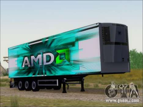 Trailer AMD Athlon 64 X2 for GTA San Andreas