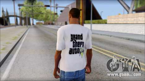 GTA 5 Fan T-Shirt for GTA San Andreas second screenshot