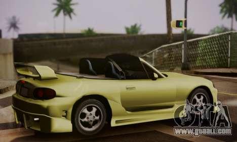 Mazda MX5 DUB for GTA San Andreas left view