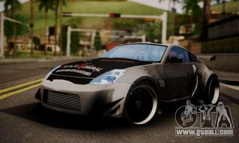 Nissan 350z Angel Beast Itasha Edition for GTA San Andreas