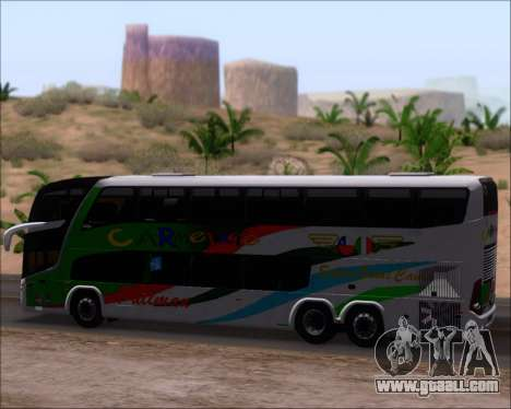 Marcopolo Paradiso G7 1800 DD 6x2 Scania K420 for GTA San Andreas inner view