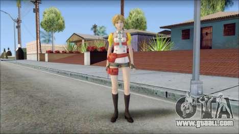 Final Fantasy XIII - Alyssa for GTA San Andreas