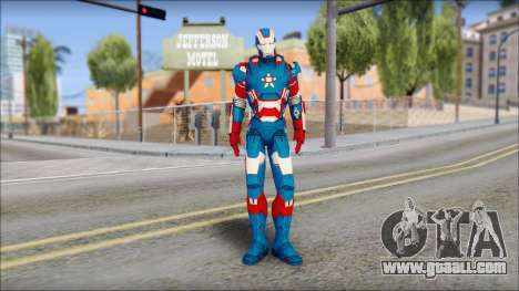 Iron Patriot for GTA San Andreas