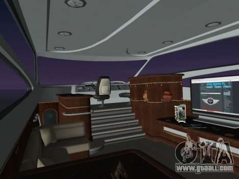 Yacht for GTA Vice City right view