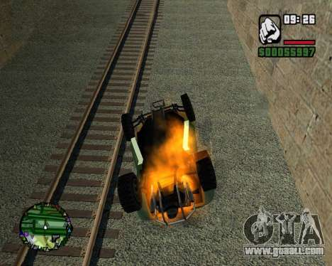 The coup for GTA San Andreas