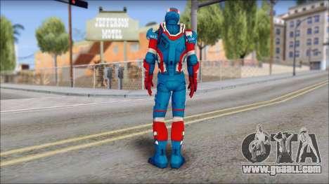 Iron Patriot for GTA San Andreas second screenshot