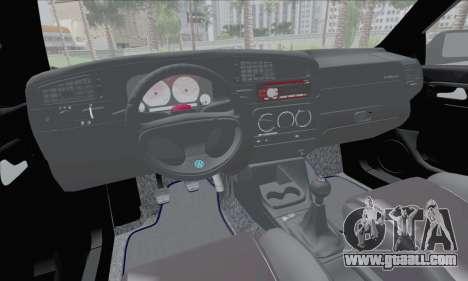 Volksvagen Golf Mk3 for GTA San Andreas back view