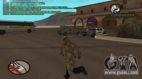 ESP for GTA San Andreas third screenshot