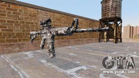 Automatic carbine MA City Camo for GTA 4
