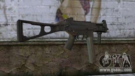 UMP-45 from CS:GO v2 for GTA San Andreas second screenshot