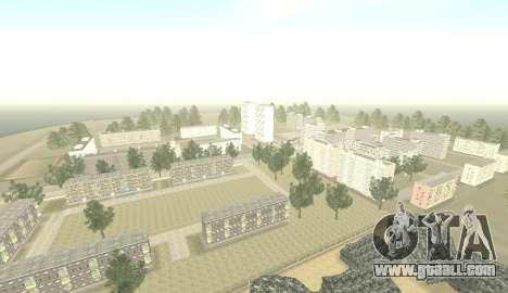 Russian Map 0.5 for GTA San Andreas second screenshot