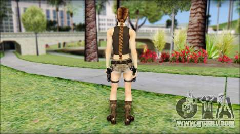 Best Lara Croft for GTA San Andreas second screenshot
