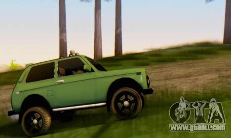VAZ 21213 for GTA San Andreas left view