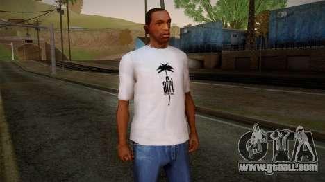 Afri Cola White Shirt for GTA San Andreas