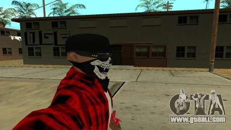 Selfie Mod for GTA San Andreas third screenshot