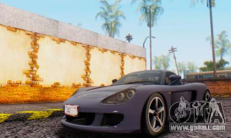 Porsche Carrera GT 2005 for GTA San Andreas