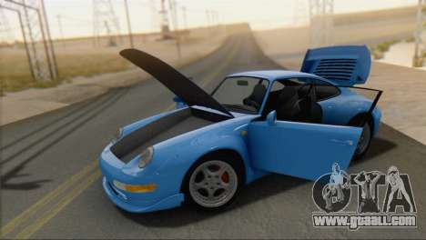 Porsche 911 GT2 (993) 1995 V1.0 SA Plate for GTA San Andreas right view