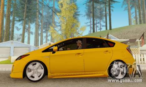 Toyota Prius Tunable for GTA San Andreas inner view