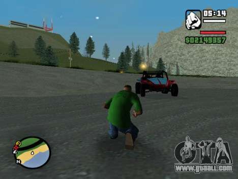 The coup for GTA San Andreas second screenshot