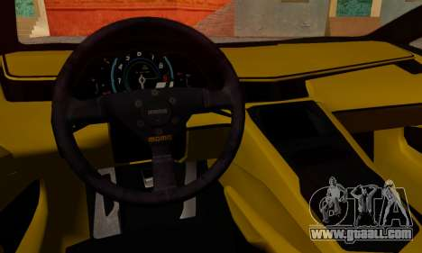Lamborghini Aventador TT Ultimate Edition for GTA San Andreas back left view