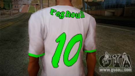 Algerian Football T-Shirt for GTA San Andreas third screenshot